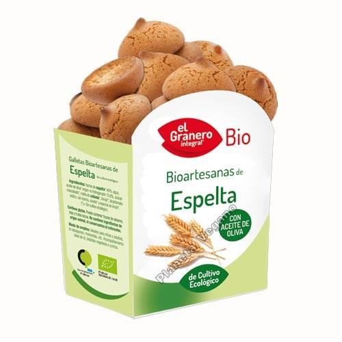 Galletas Bio Artesanas de Espelta, 220g. El Granero