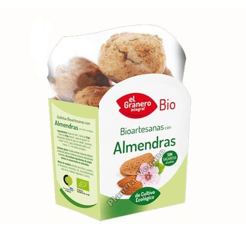 Galletas Bio Artesanas de Almendra, 250g. El Granero