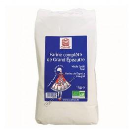 Harina Integral de Espelta Bio, 1 kg. Celnat