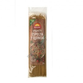 Spaghetti de Espelta y Quinoa, 250g. Biográ