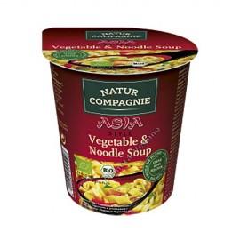 Sopa de Verduras con Tallarines estilo Asia, 55g. Natur Compagnie