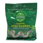 Gomitas de Serpientes, 75g Biona