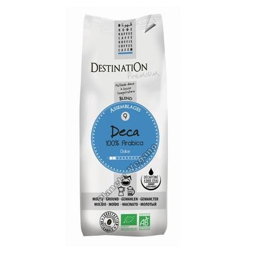Café Descafeinado Bio Molido 250 g. Destination