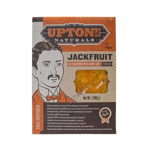 JackFruit Thai Curry, 200g. Upton's Naturals