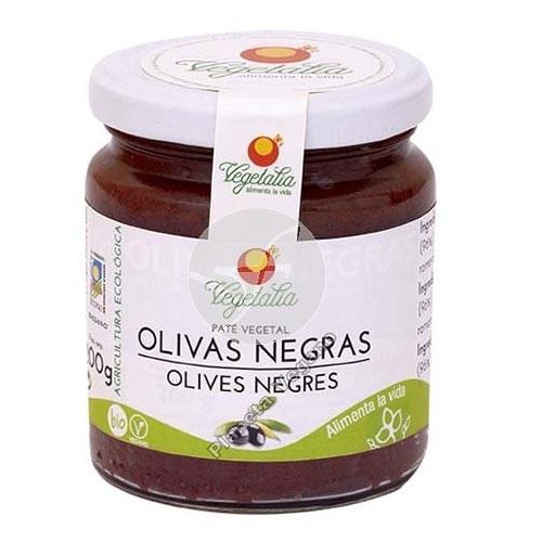 Paté de Olivas Negras, 180g Vegetalia
