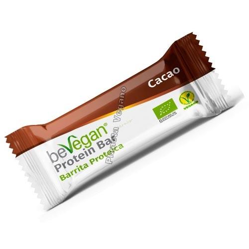 Barrita Proteica de Cacao, 35g. BeVegan