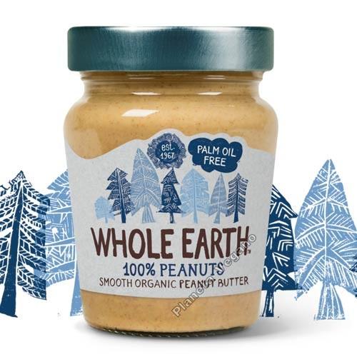 Crema de Cacahuete Smooth, 227 gr- Whole Earth