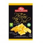 Patatas Fritas con Piel, 125g. Natursoy