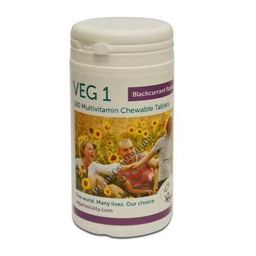 Multivitamínico Grosella Negra Veg 1 x 180 comprimidos