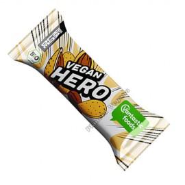 Barrita de Chocolate Blanco con Almendras Vegan Hero, 40g. V.F.