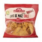 Chips de Maíz con Sabor a Chile, 75g. Natursoy