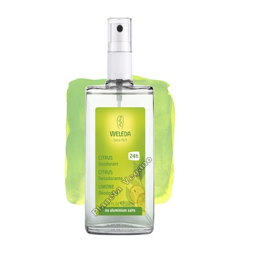 Desodorante Citrus, 100 ml. Weleda
