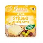 Queso Vegano Sheese Cheddar estilo curado (Strong), 200g. Bute Island