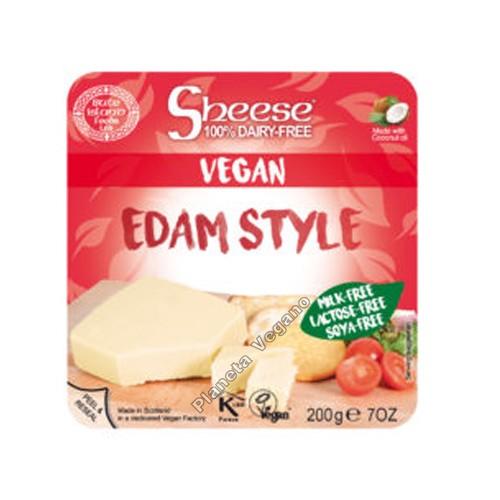 Queso Vegano Sheese estilo Edam, 200g. Bute Island