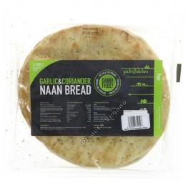 Pan Naan de Ajo y Cilantro, 300g. Punjaban