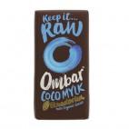 Chocolatina con Leche de Coco, 35g. Ombar