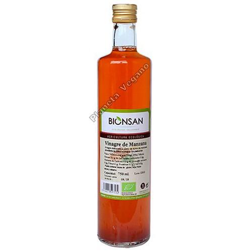 Vinagre de Manzana ecológico, 750 ml. Bionsan