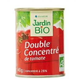 Doble Concentrado de Tomate Triturado, 140g. Jardin Bio