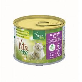 Pienso Húmedo Vegano para Gatos, 185 g. Vitaveg