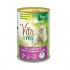 Pienso Húmedo Vegano para Gatos, 390 g. Vitaveg