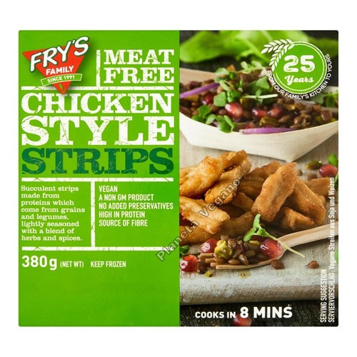 Taquitos de Pollo Vegetal de Frys Family, 380g