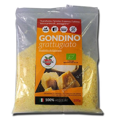 Queso Vegano Parmesano Rallado, 100g. Pangea Food