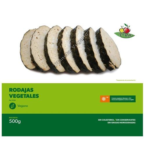 Rodajas de Pescado Vegano, 500 g. Vegesan