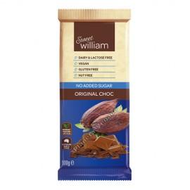 Chocolate Vegano Original Sin Azúcar, 100g. Sweet William