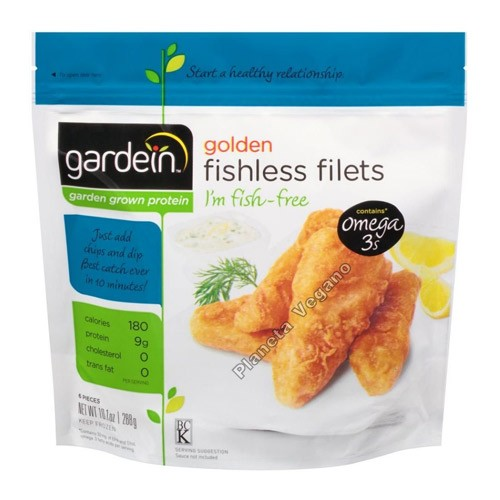 Fishless Filets, 288g. Gardein