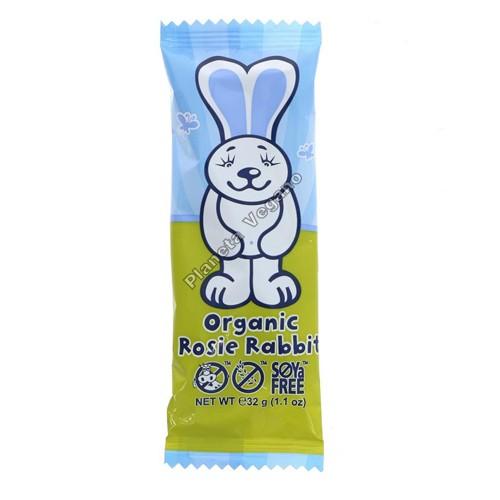 Conejo de Pascua de Chocolate Vegano, 32g. Moo Free