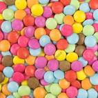Bolitas de Colores Rellenas de Chocolate, 75g Clarana