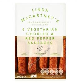 Salchichas Veganas Sabor Chorizo de Linda McCartney, 300g
