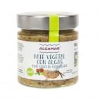 Paté Vegetal con Algas, 180g. Algamar