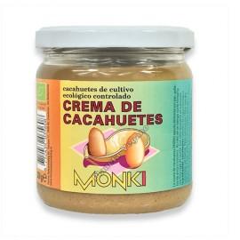 Crema de Cacahuete, 330g. Monki