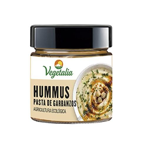 Hummus puré de garbanzo, 180g. Vegetalia