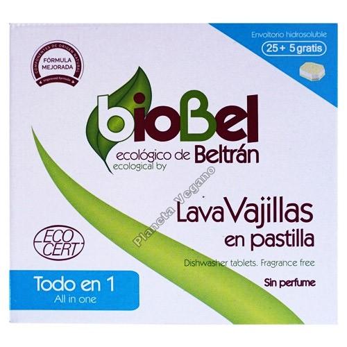 LavaVajillas Ecológico en Pastilla, 480g. BioBel