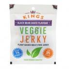Tiras de Carnita Vegetal sabor Alubia Negra (Jerky) 25g. Kings