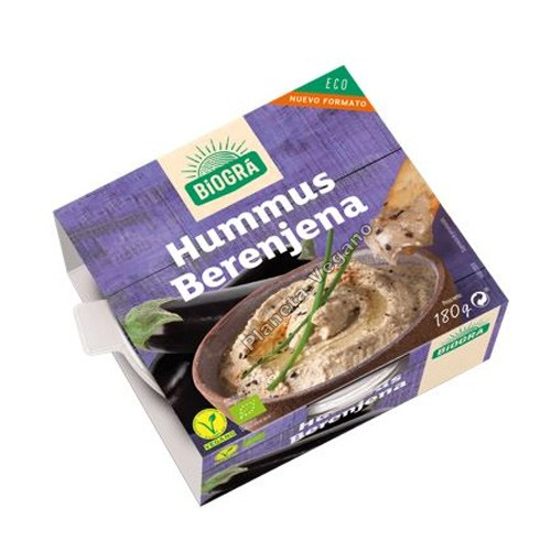 Hummus de Berenjena, 180 g. Biográ