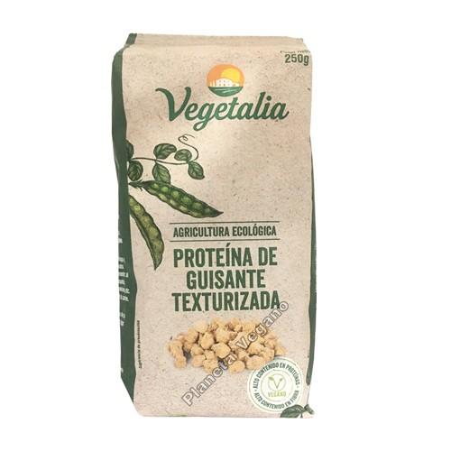 Proteína de Guisante Texturizada Bio, 250g. Vegetalia