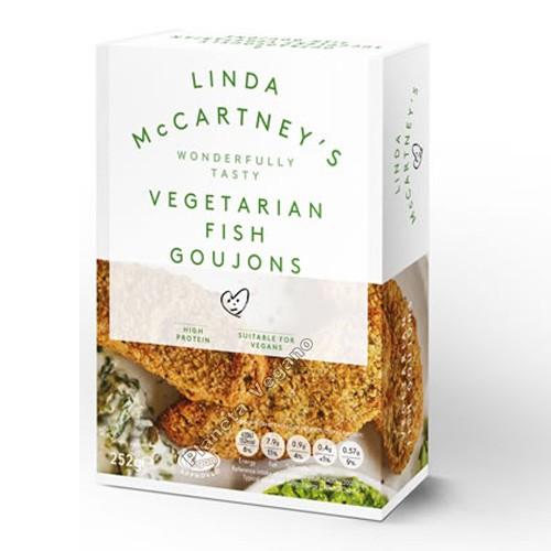 Filetes Empanados de Pescado Vegano Linda McCartney, 252g