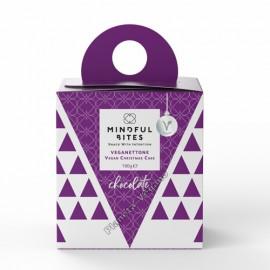 Panettone Vegano con trocitos de Chocolate, 100g. Mindful Bites
