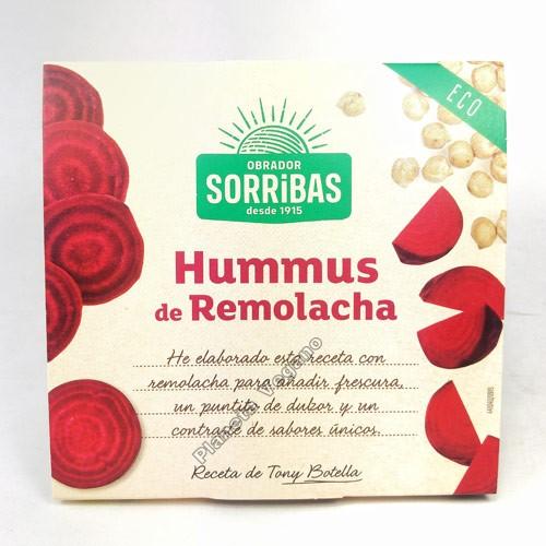 Hummus de Remolacha, 180 g. Biográ