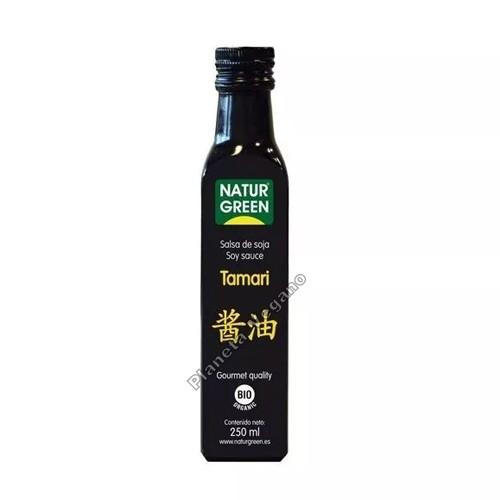 Salsa de Soja Tamari, 250 ml. Naturgreen