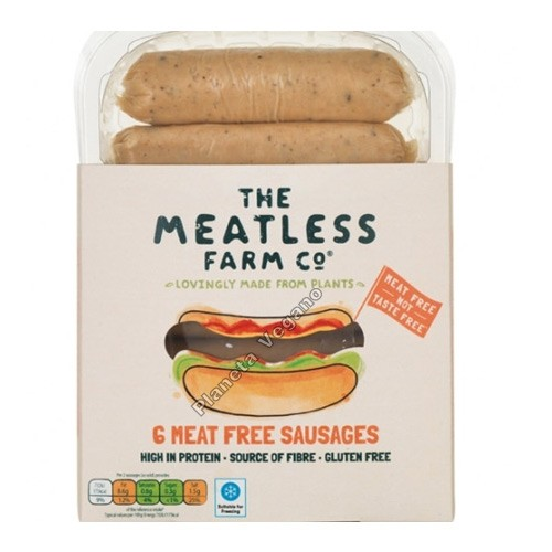 Salchicha Vegana, 300g. The Meatless Farm