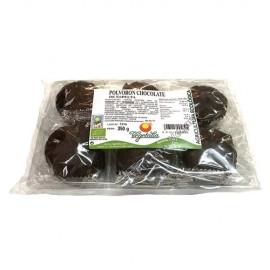 Polvorón Chocolate de Espelta, 350g. Horno de Leña
