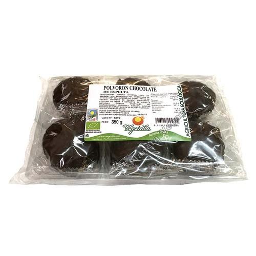 Polvorón Chocolate de Espelta, 350g. Vegetalia