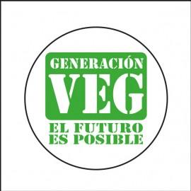 Chapa Generación Veg El Futuro Es Posible