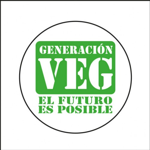 Imán Generación Veg El Futuro Es Posible