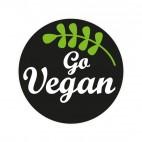 Imán Go Vegan