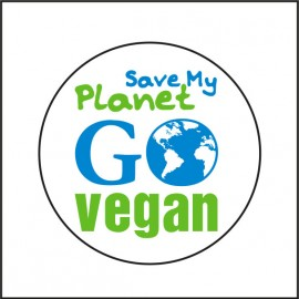 Chapa Save My Planet - Go Vegan